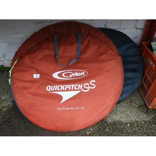 2 - Pop Up Tents...
