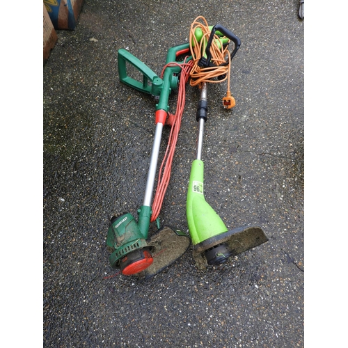 39 - 2x Electric Strimmers...