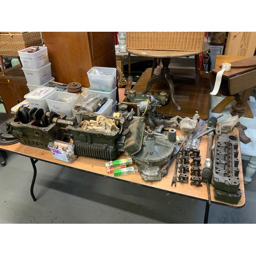 20E - Mini Engine/Engine Parts - Found in the Same Garage as Lot 20A...