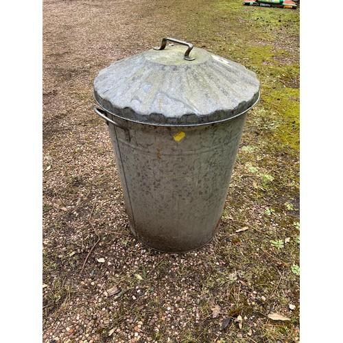 48 - Galvanised Dustbin