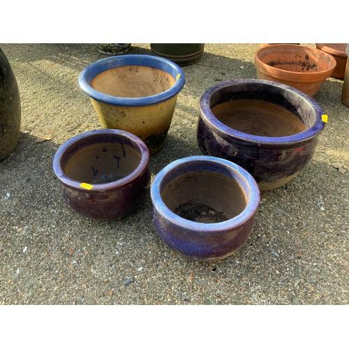 51 - Glazed Planters