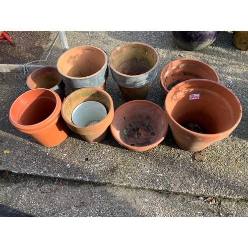 38 - Terracotta Pots