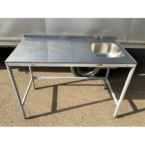 54 - Commercial Sink on Table