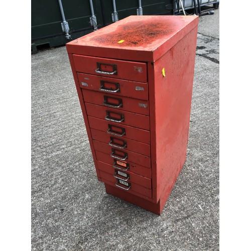 43A - Ten Drawer Filing Cabinet