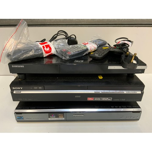 182 - Various DVD Players with Remotes