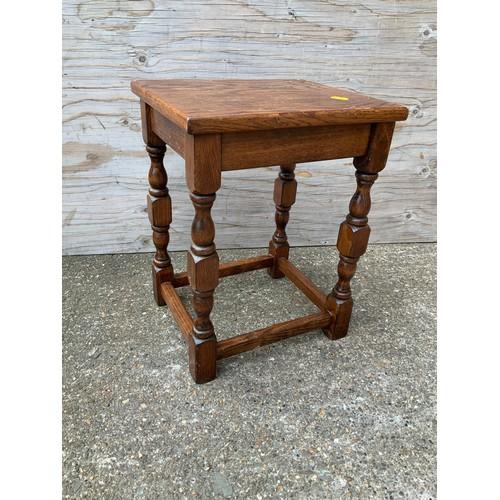 578 - Oak Lamp Table