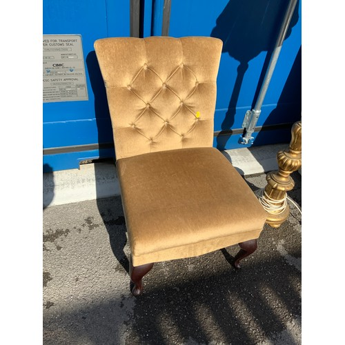 563 - Upholstered Bedroom Chair
