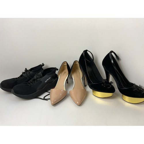 821 - 3x Pairs of Ladies Shoes