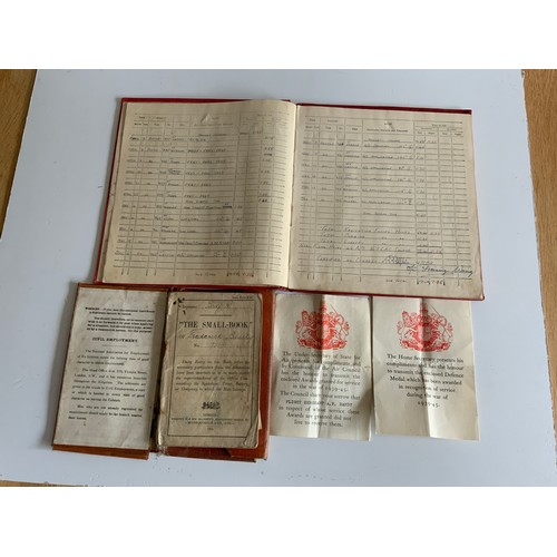 742 - First and Second World War Medals and Related Ephemera First World Medals Marked 3 -7518 PTE.F.Bandy...