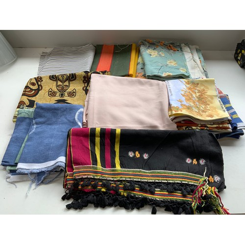 331 - Quantity of Fabric and Tea Towels