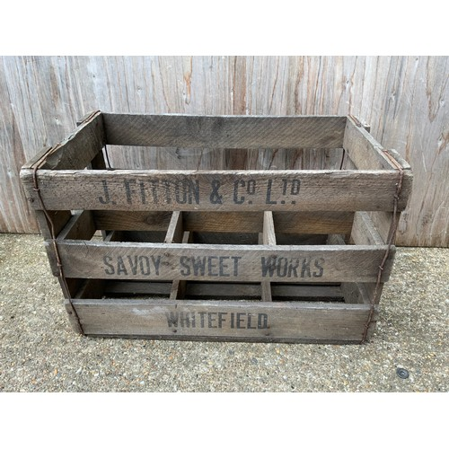 337 - Wooden Crate
