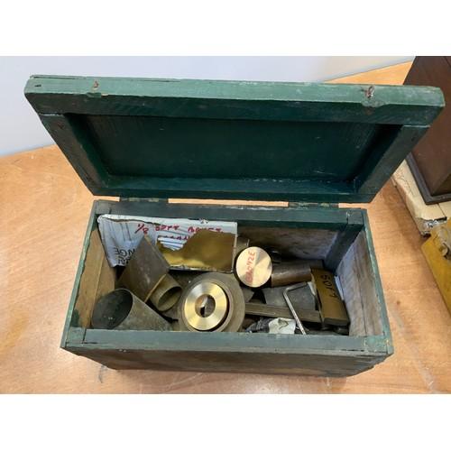 776 - Box of Engineers Brass etc