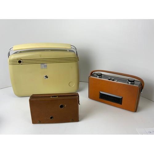 143 - 3x Transistor Radios - Bush TR82C, Roberts Rambler and Sobell