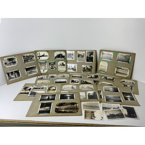 678 - 1930s 1940s Photographs - Troopships, Aden, Malta, Singapore and India