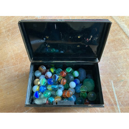 792 - Tin of Marbles