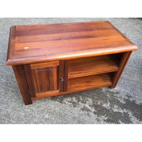 551 - Stained Pine Cabinet - L92 x D45 x H52cm