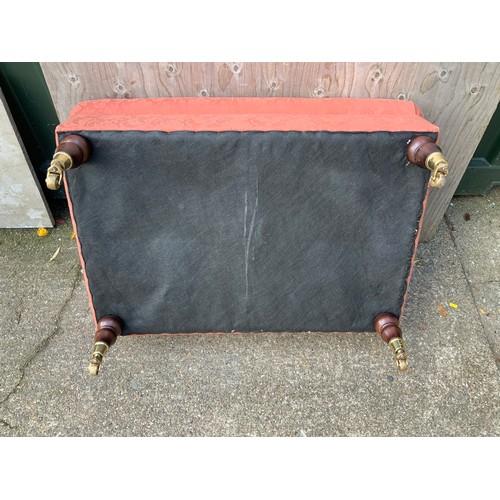 539 - Upholstered Footstool