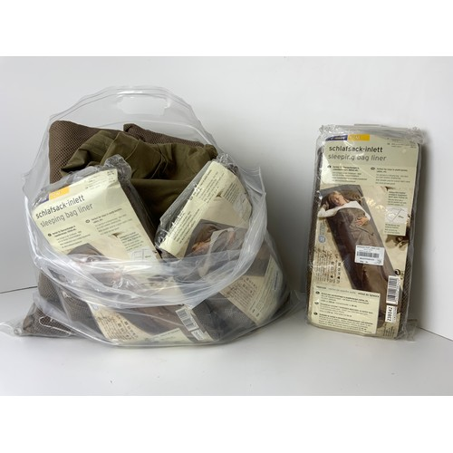 521 - Quantity of Sleeping Bag Liners