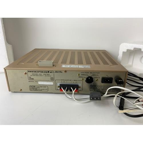 243 - Boxed Marantz Stereo Amplifier