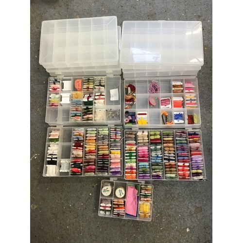537 - Selection of Threads and Storage Containers