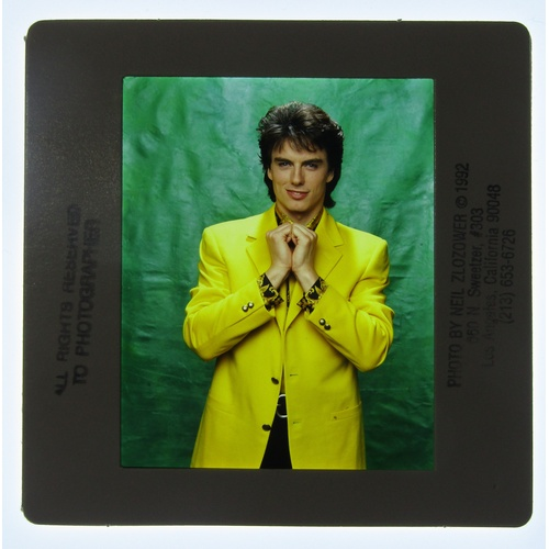 330 - Large collection of John Barrowman of Colour Slides (approx. 132) shot as promotion for his roll in ...