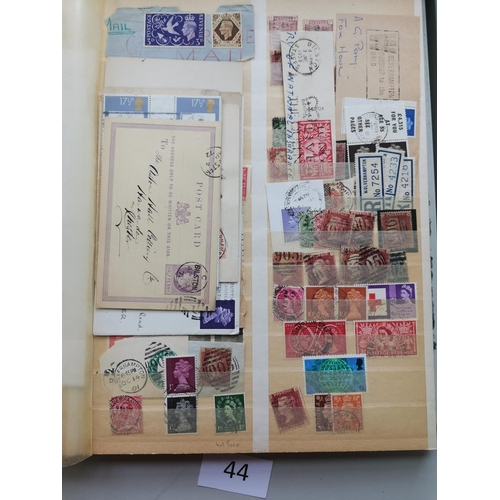 44 - Ranges in stockbook incl. NZ from QV onwards. (100's)...