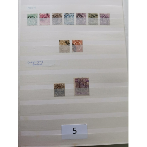 5 - BRITISH AFRICA. QV-KGVI M and U collection in stockbook  mixed condition  but useful values  incl. S...
