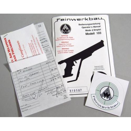 Fwb 103 Manual