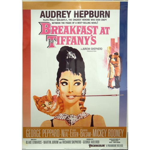 2 - Breakfast at Tiffany's Laminated Poster Approx 60cm x 86cm...