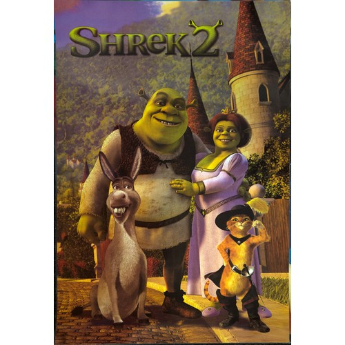 11 - Laminated Children's Posters. Incl. Dolphins, Shrek, Tweenies (5) Approx 60cm x 45cm...