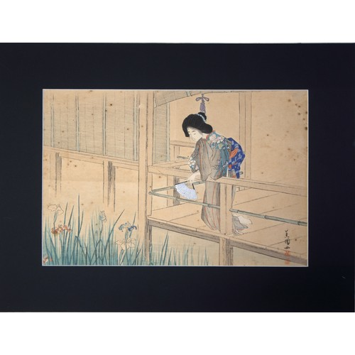 26 - Japanese Colour Print: