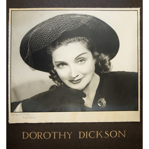 14 - Angus McBean: Large signed photo of Dorothy Dickson...