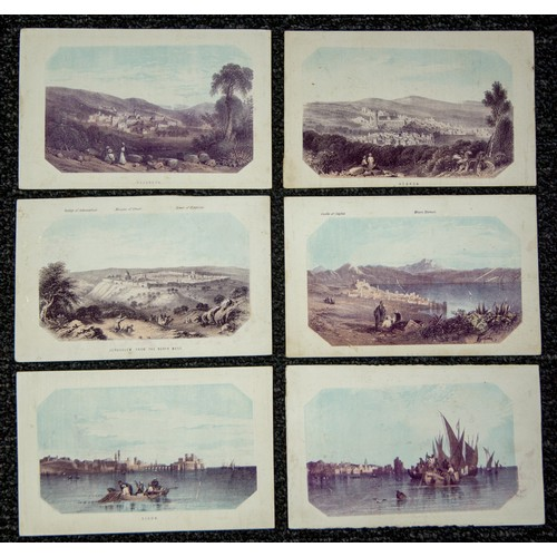41 - Prints of Jerusalem and surrounding areas (12)...