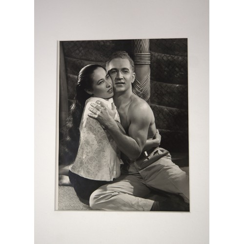 28 - Angus Mcbean: Photograph.  Theatrical Scene in South Pacific. Provenance form auction sale…....