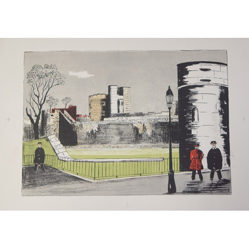 23 - Fred Ulhman. Lithograph, signed on reverse....