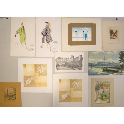 51 - Selection of Watercolours and Prints, some with signatures and dates....