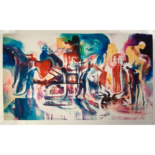 31 - Ed Scissor: Lithograph, signed and numbered...