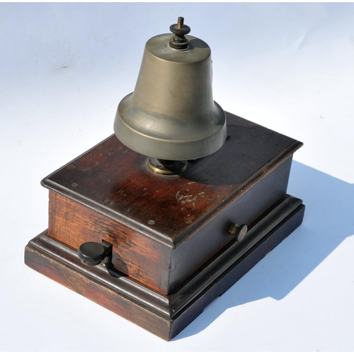 14 - GWR block bell with tapper....