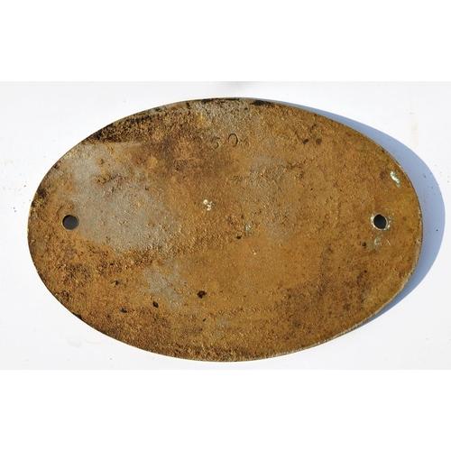 2 - Worksplate, Aveling & Porter, 9285, Agricultural & Gen Engineers, cast brass....