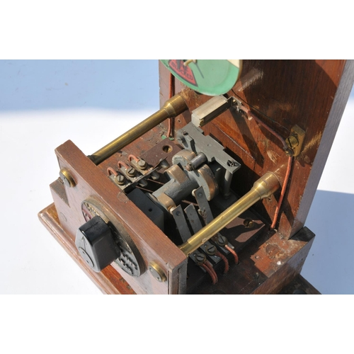 28 - LNER pegging block instrument....