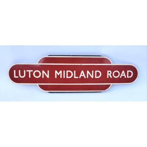 96 - Totem, Luton Midland Road, repainted....