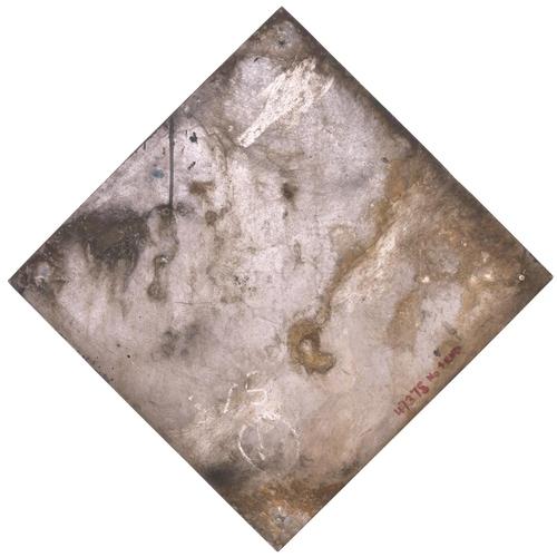 20 - A depot plaque Yorkshire rose for TINSLEY depot. Cast aluminium, 17 ¾