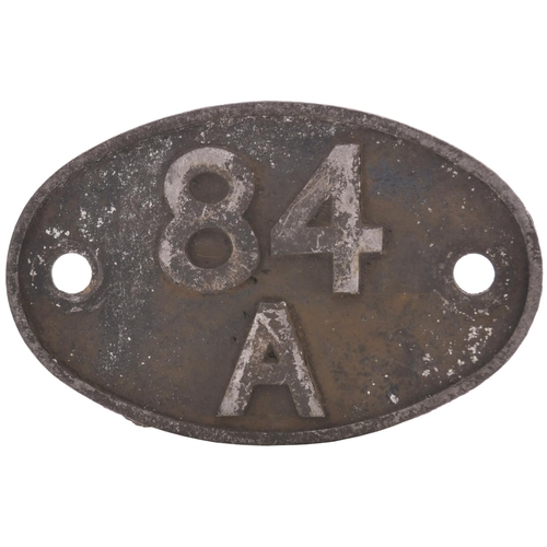 36 - 84A Plymouth Laira (September 1963 ヨ 1978). This alloy plate was carried by the depot's diesel hyd...