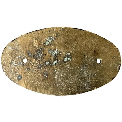 60 - A bogie plate 7000/152 from a Class 35 Hymek. Cast brass, 4
