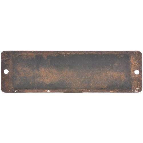 2 - A smokebox numberplate, 5718, from a GWR 5700 Class 0-6-0PT built by the North British Locomotive Co...