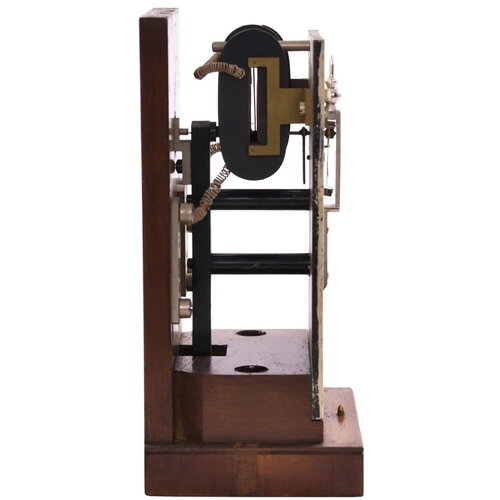 45 - A Great Western Railway semaphore signal repeater, with yellow distant arm on finialled post and bra...