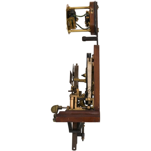 28 - A Great Eastern Railway Sykes lock and block instrument with top repeater, restored face 27 FREE TO ...
