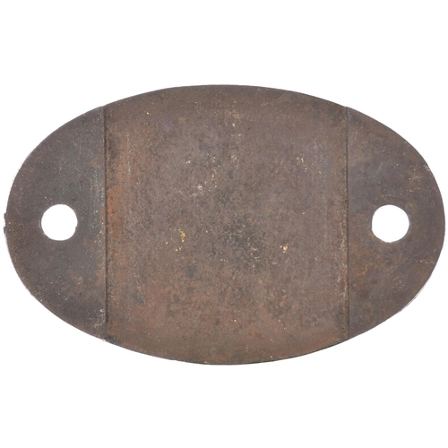 48 - An LMS shedplate 2B (Bletchley 1948-July 1950, then Nuneaton July 1950-September 1963 and finally Ox...