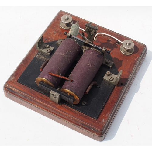 10 - Lancashire & Yorkshire Railway signal box block bell (non tapper) No. 581, ex service condition. (Po...