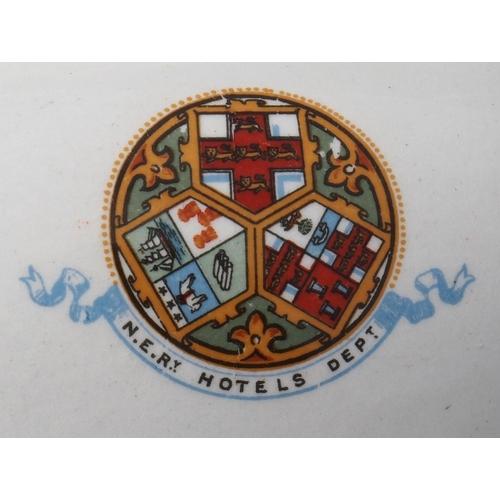 15 - North Eastern Railway Hotels Dept chamber pot by Bishop Stonier Ltd, good undamaged condition. (Post...